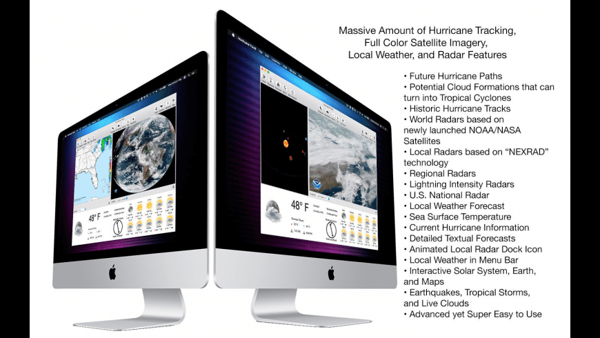 Hurricane Track for Mac - review, screenshots
