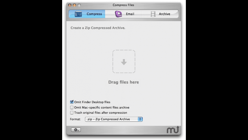 Compress Files for Mac - review, screenshots