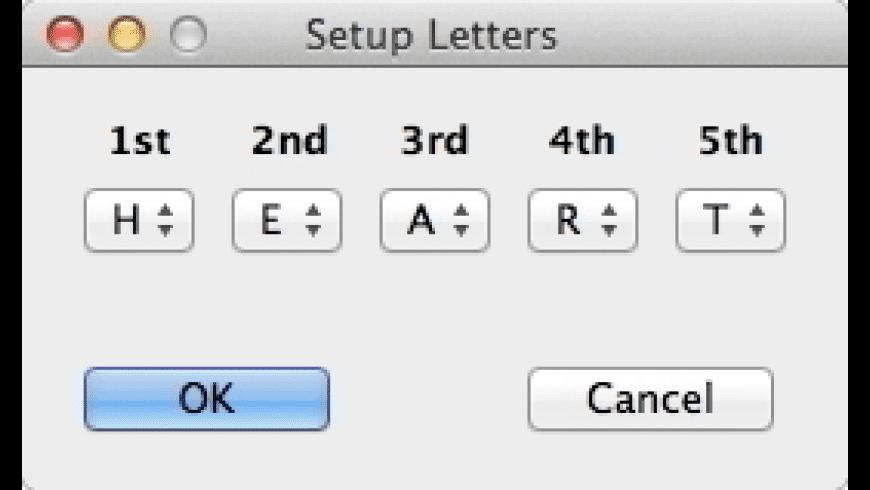 Custom Bingo for Mac - review, screenshots