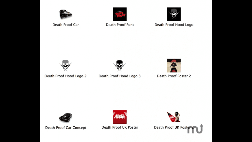 Death Proof Icons for Mac - review, screenshots