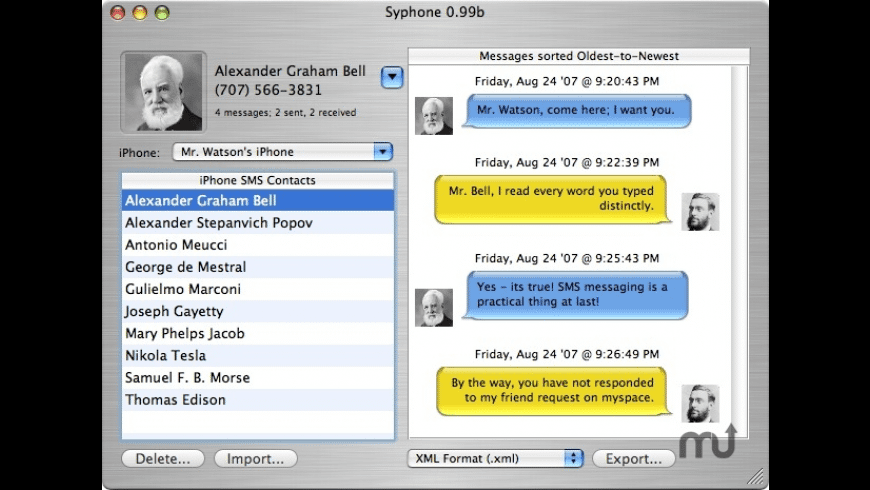 Syphone for Mac - review, screenshots