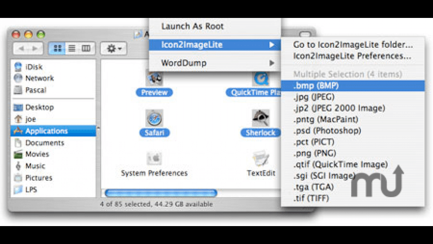 Icon2ImageLite for Mac - review, screenshots