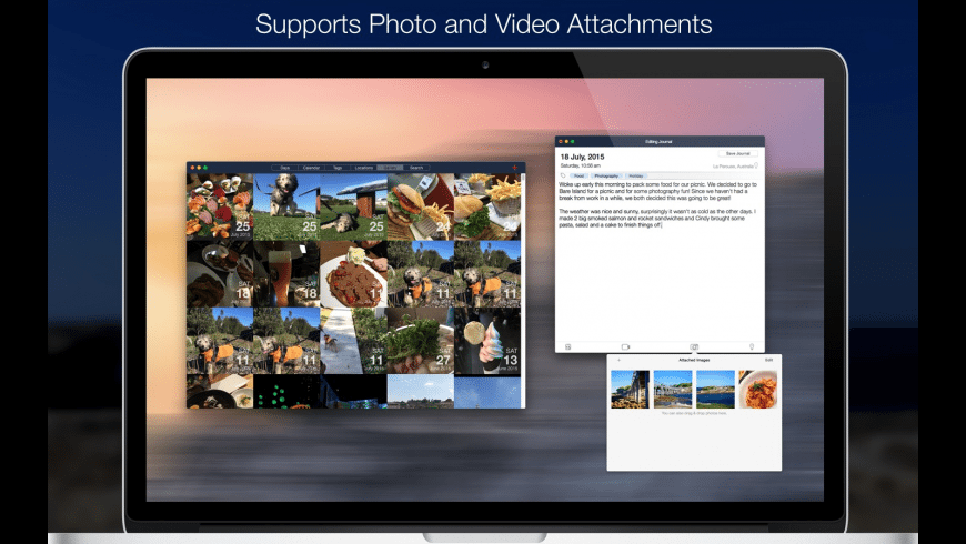Capture 365 Journal for Mac - review, screenshots