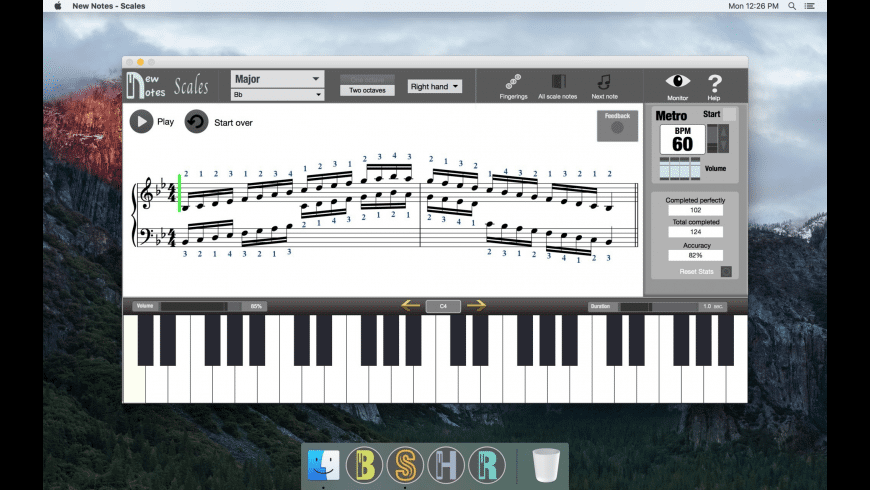 New Notes - Scales for Mac - review, screenshots