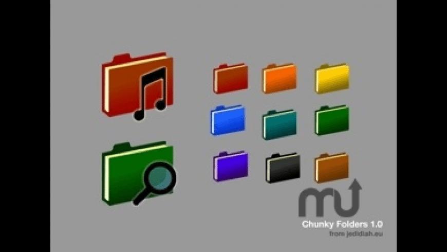 Chunky Folder Icons for Mac - review, screenshots