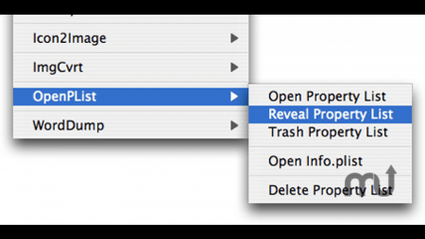 OpenPListCM for Mac - review, screenshots