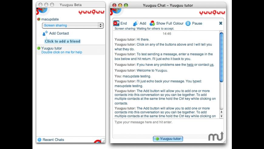 Yuuguu for Mac - review, screenshots