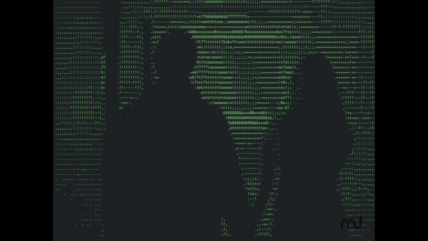 ASCII Projektor for Mac - review, screenshots
