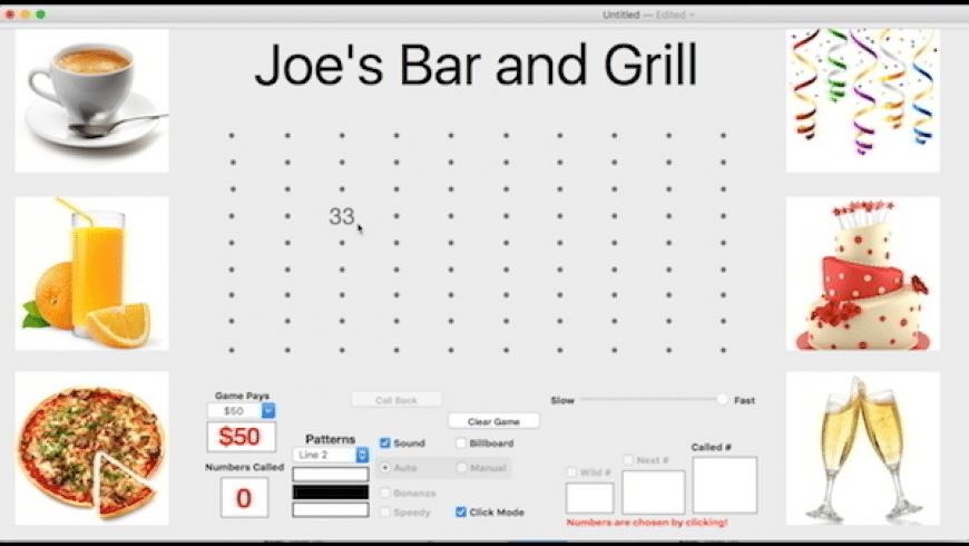 Business Bingo 90 for Mac - review, screenshots