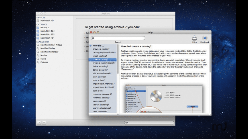 Archive for Mac - review, screenshots