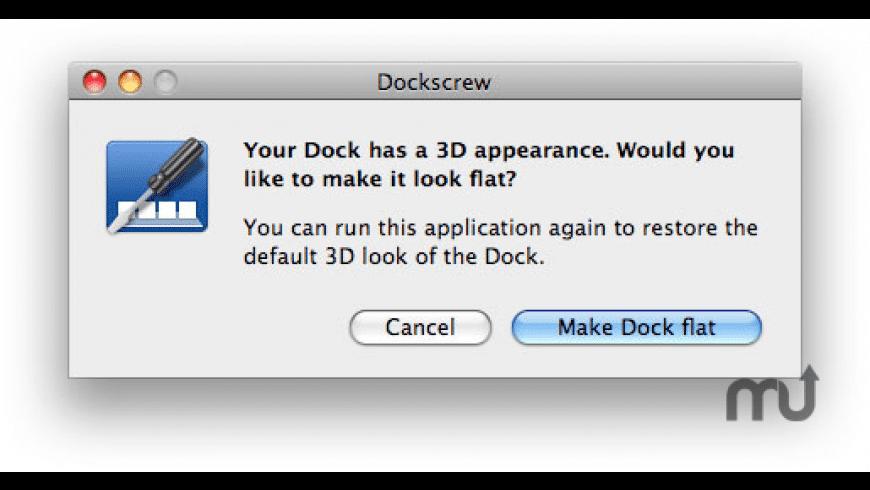 Dockscrew for Mac - review, screenshots