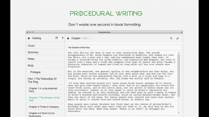 Everywriter for Mac - review, screenshots