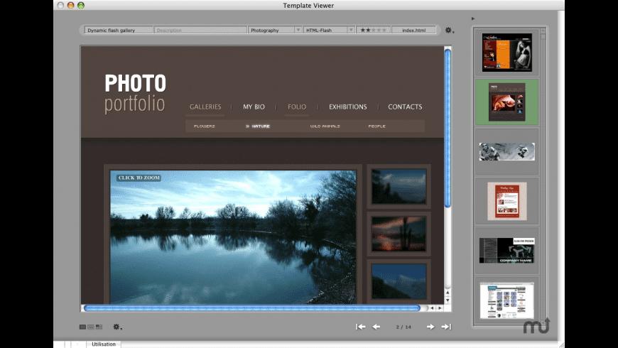 Template Viewer for Mac - review, screenshots