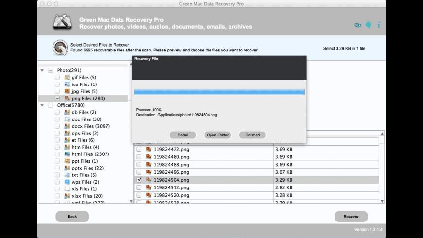 Green Mac Data Recovery Pro for Mac - review, screenshots