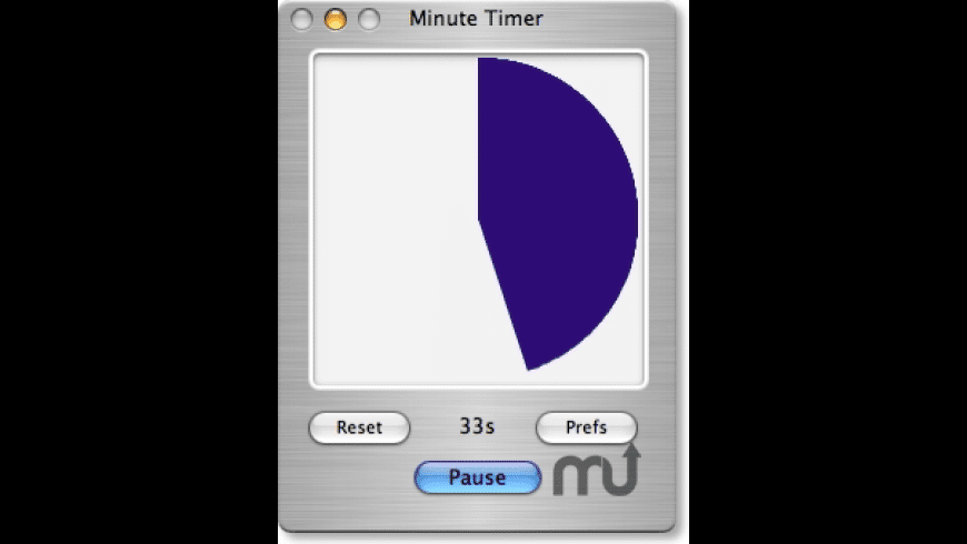 Minute Timer X for Mac - review, screenshots