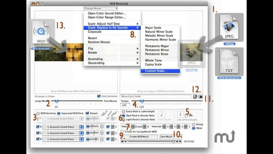 RGB MusicLab for Mac - review, screenshots