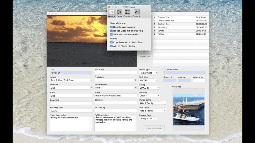 MetaDoctor for Mac - review, screenshots
