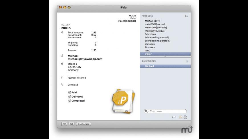 iPaler for Mac - review, screenshots