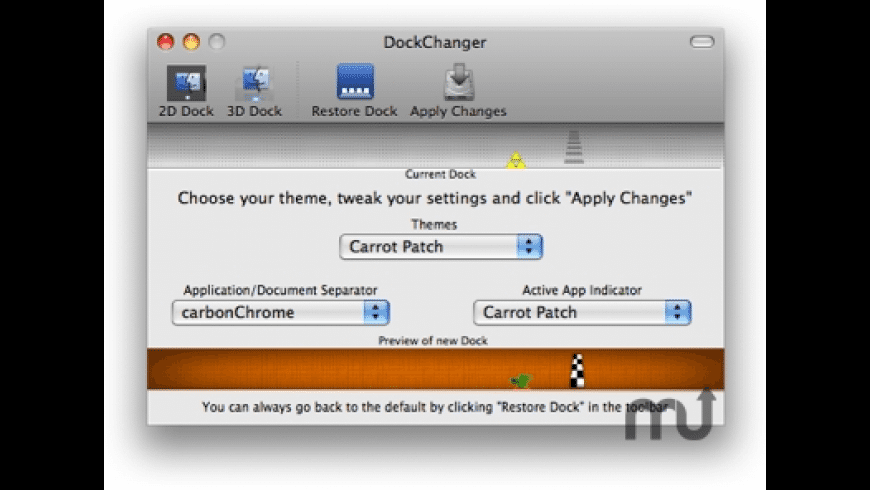 DockChanger for Mac - review, screenshots