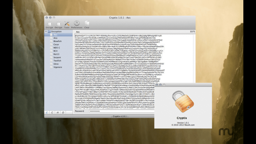 Cryptix for Mac - review, screenshots