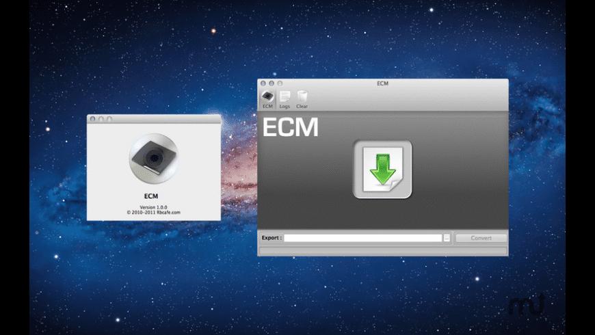 ECM for Mac - review, screenshots