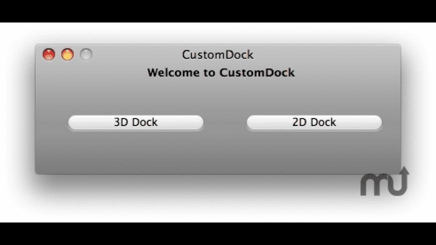 CustomDock for Mac - review, screenshots