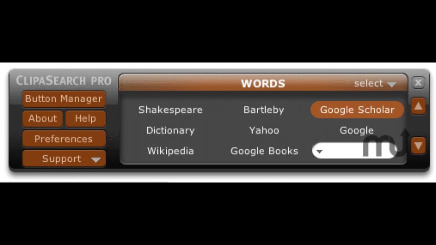 ClipaSearch Pro for Mac - review, screenshots