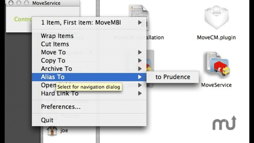 MoveCM for Mac - review, screenshots