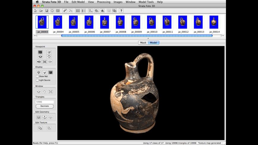 Strata Foto 3D CX for Mac - review, screenshots