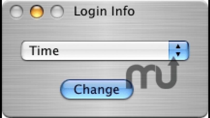 Login Info for Mac - review, screenshots