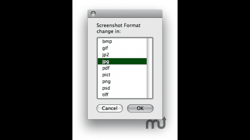 ScreenShotFormatX for Mac - review, screenshots