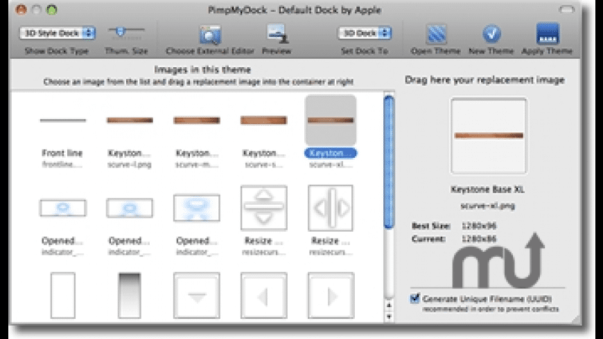 PimpMyDock for Mac - review, screenshots