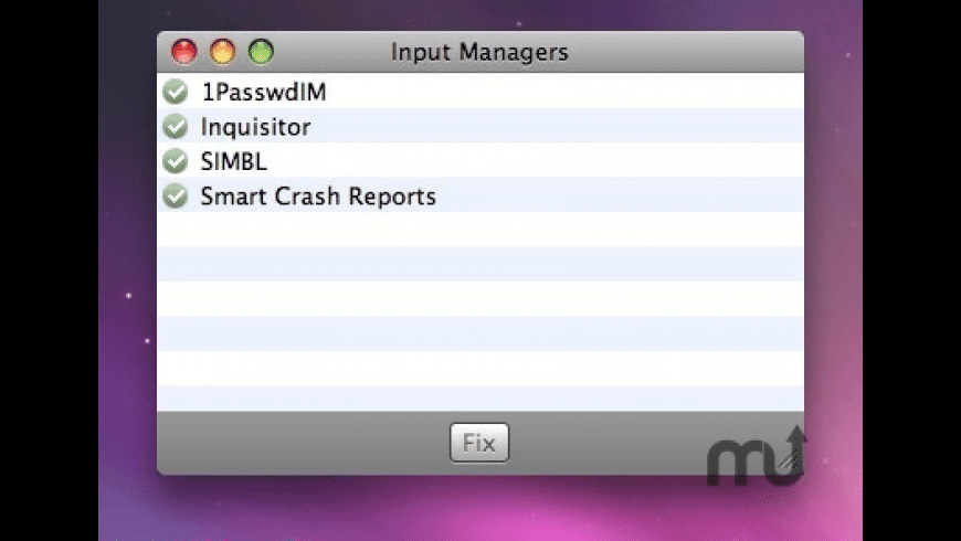 Input Managers for Mac - review, screenshots