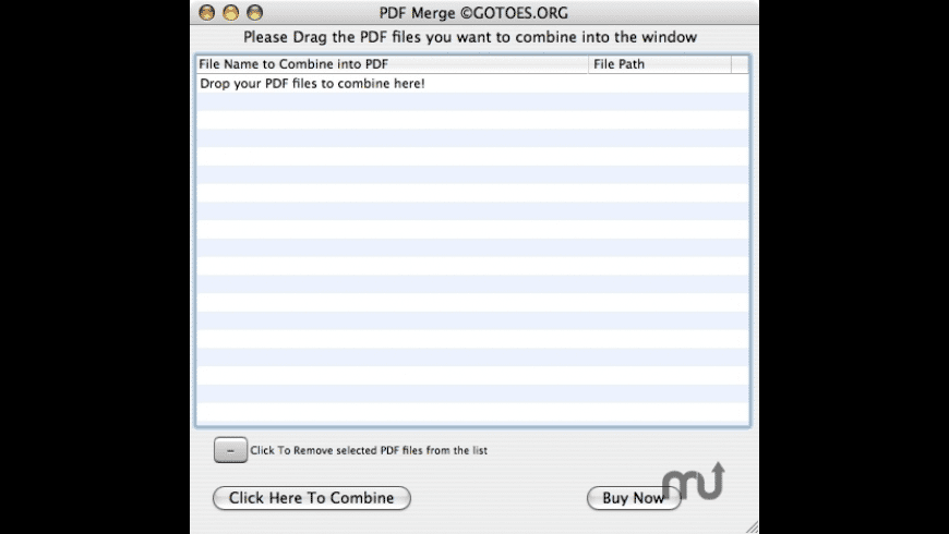 PDF Merge for Mac - review, screenshots