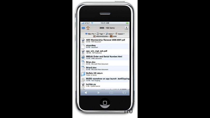 iGet Mobile for Mac - review, screenshots