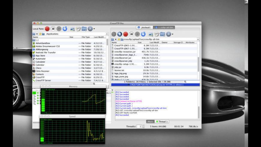 CrossFTP Pro for Mac - review, screenshots