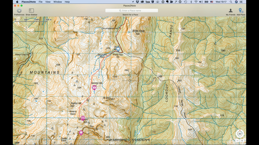 Places2Note for Mac - review, screenshots