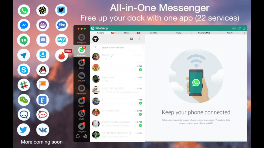 One Chat Lite for Mac - review, screenshots