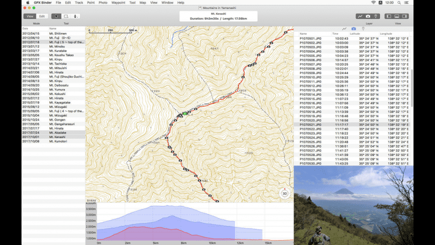 GPX Binder for Mac - review, screenshots