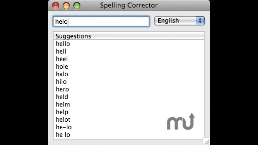 Spelling Corrector for Mac - review, screenshots