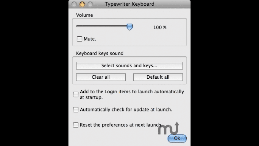 Typewriter Keyboard for Mac - review, screenshots
