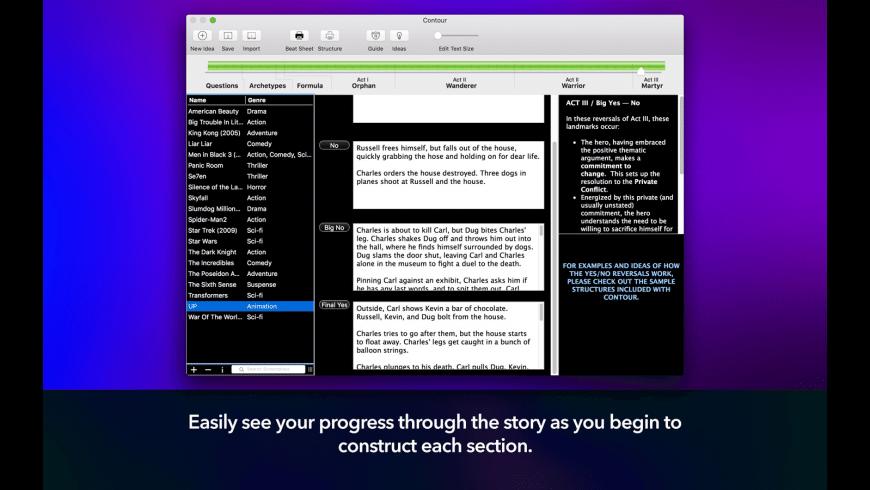 Contour for Mac - review, screenshots