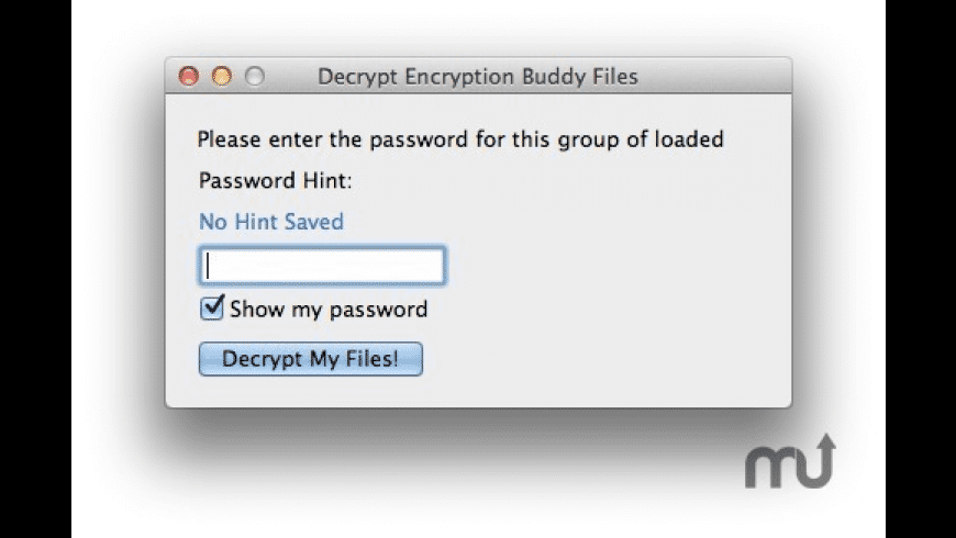 Encryption Buddy for Mac - review, screenshots