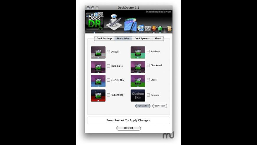 DockDoctor for Mac - review, screenshots