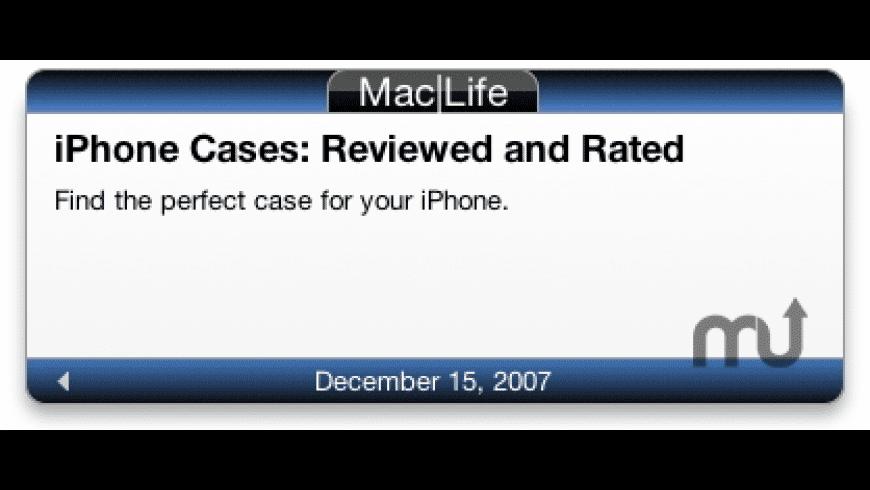 Mac|Life Widget for Mac - review, screenshots