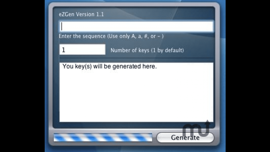 eZGen for Mac - review, screenshots
