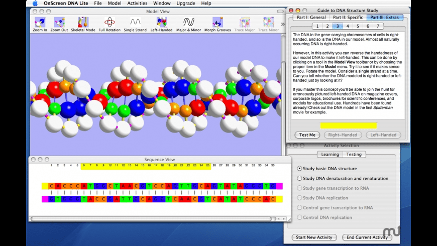 OnScreen DNA Lite for Mac - review, screenshots