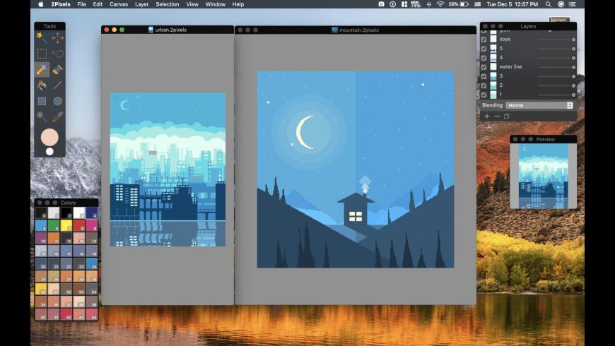 2Pixels for Mac - review, screenshots