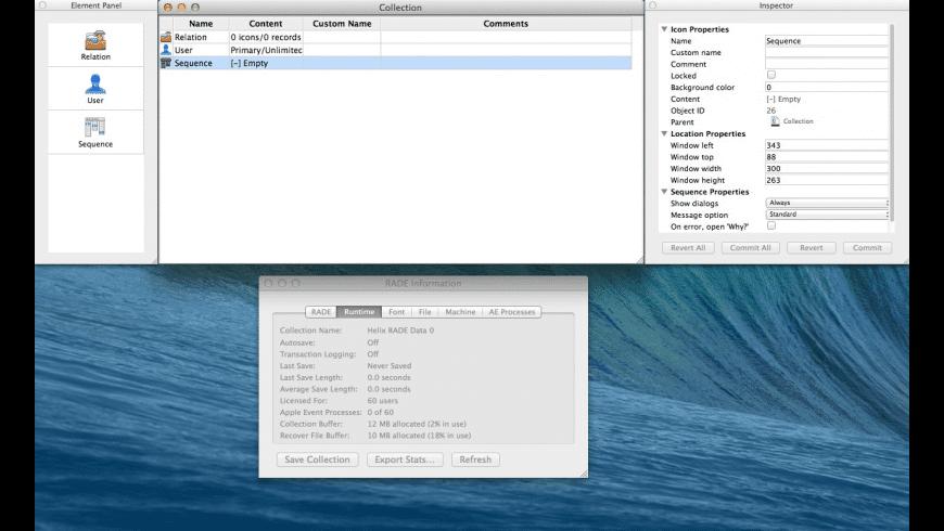 Helix RADE for Mac - review, screenshots