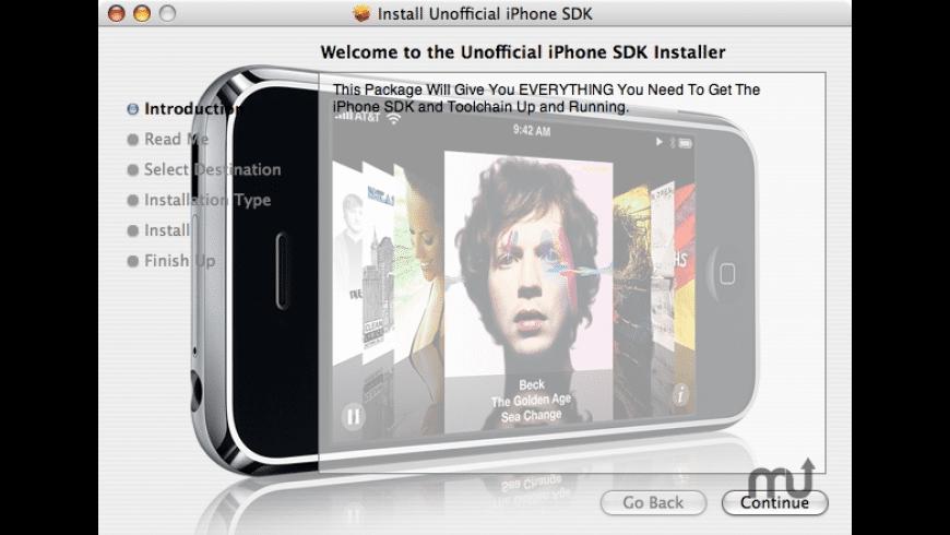 iPhone SDK Install for Mac - review, screenshots